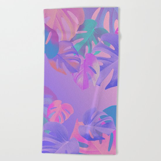 Monstera multi Beach Towel