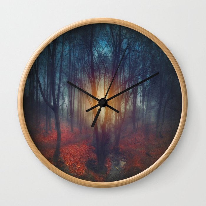 cRies and whiSpers Wall Clock