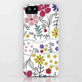 Colorful Vibrant Color Background iPhone Case