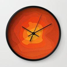 Sand Flower Wall Clock