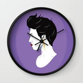 BianCamée Lilas Wall Clock
