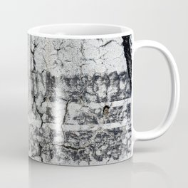 Urban Texture Photography - Road Markings Tire Tracks Coffee Mug