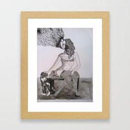 humo Framed Art Print