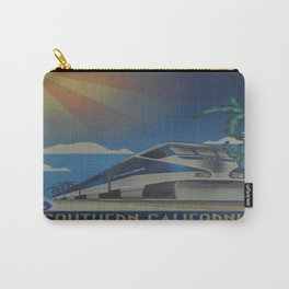 Vintage poster - Southern California Carry-All Pouch