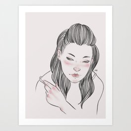 Are you gonna break my heart? Art Print