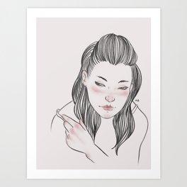 Are you gonna break my heart? Art Print