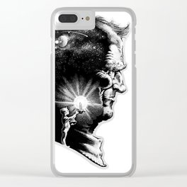 The Boy is Sire to the Man Clear iPhone Case