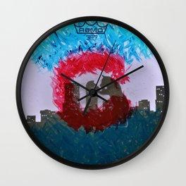 Colorado Bear-Zilla Wall Clock