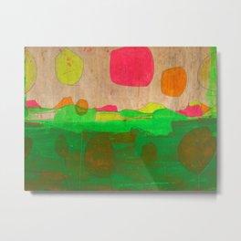 Absract Landscape Metal Print