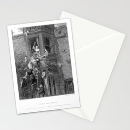 Attack and Defend Stationery Cards
