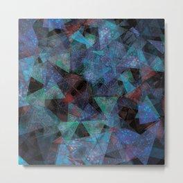 Triangle chaos Metal Print