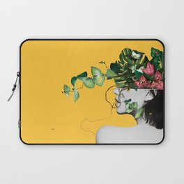 Lady Flowers Laptop Sleeve