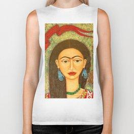 My homage to Frida Biker Tank