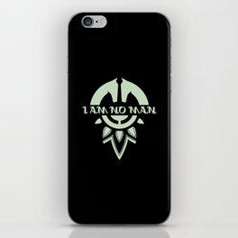 I am No Man iPhone Skin