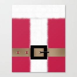 Christmas , Santa Claus , red Canvas Print