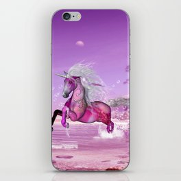 Wonderful unicorn iPhone Skin