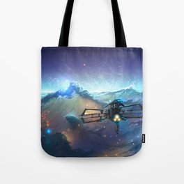 The Sea Of Space Tote Bag
