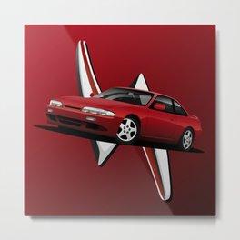 Silvia S14 Metal Print