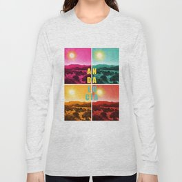 Colorful Andalusia Long Sleeve T-shirt
