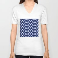 moroccan V-neck T-shirts featuring Moroccan XII by Mr and Mrs Quirynen