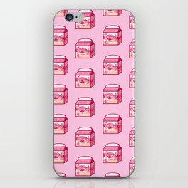 Strawberry Milk iPhone Skin