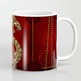 Wonderful golden chinese dragon Coffee Mug