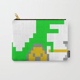 8-Bit-Viking-T-Rex Carry-All Pouch