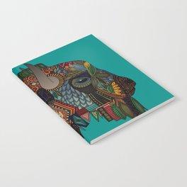 bison teal Notebook