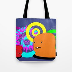 Two Creatures Tote Bag