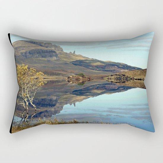 Travelling in Scotland No. 2 Rectangular Pillow