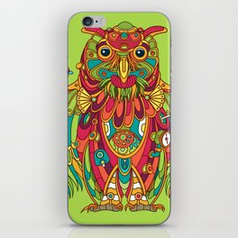 Owl, cool art from the AlphaPod Collection iPhone Skin