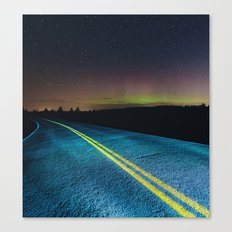 Road to the North Canvas Print