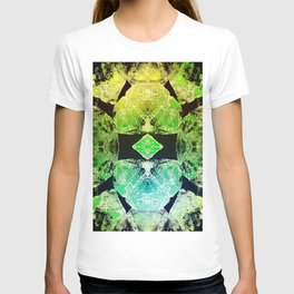 Green Mandala-Heart Chakra T-shirt