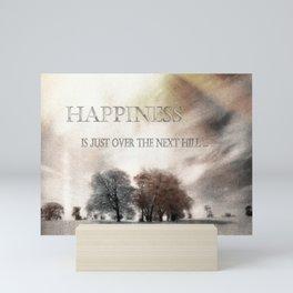 Happiness Mini Art Print