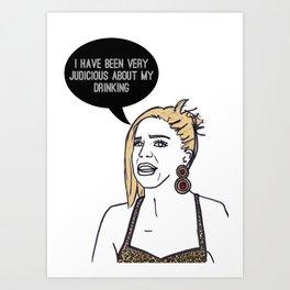 Tequila Katie Art Print
