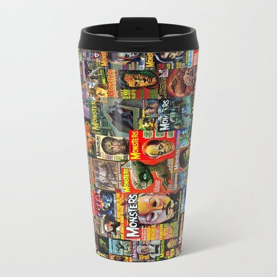 Monsters  |  Collage Metal Travel Mug