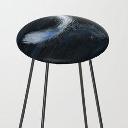 Angel Feather by Teresa Thompson Counter Stool