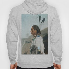 Crow's Heart - Mandan - American Indian Hoody