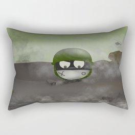 Abo on fire Rectangular Pillow