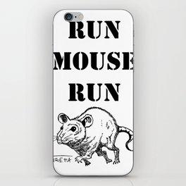 Run Mouse Run iPhone Skin