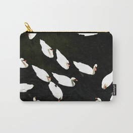Swans-A-Swimming Carry-All Pouch