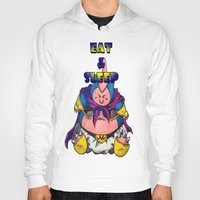 snorlax Hoodies featuring majin snorlax eat and sleep by yungdee13