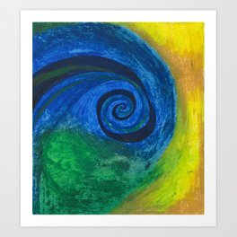 Abstract Poetic Art Print