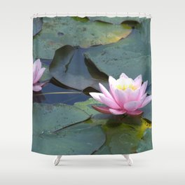 Water time Shower Curtain