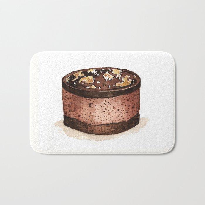 Chocolate Mousse Bath Mat