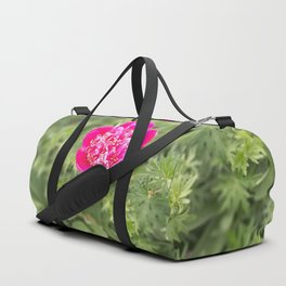 Lonely peony Duffle Bag