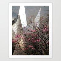 City Blossoms Art Print