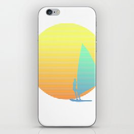 Summer Windsurfer iPhone Skin