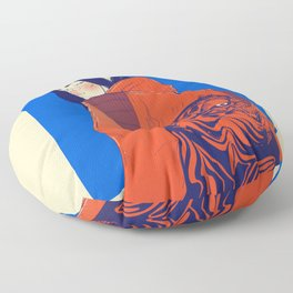Tiger jacket Floor Pillow