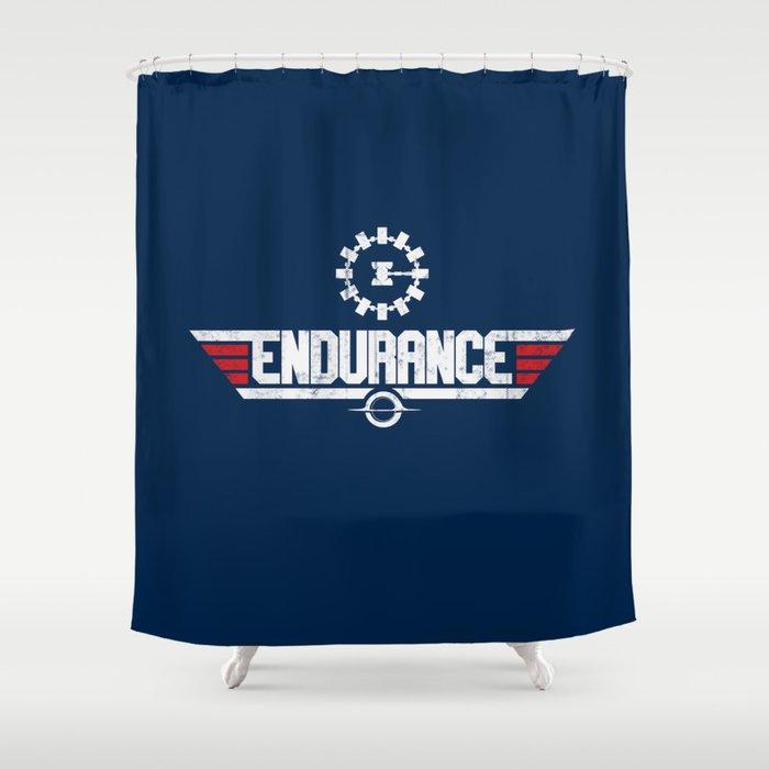 Endurance Top Gun Shower Curtain